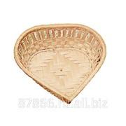 Хлебница ажурная в виде сердечка (13*13*Н4), арт. 835301-S фото