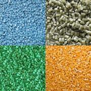 Переработка полимерных отходов. фото