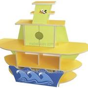 Стенка игровая Кораблик фото