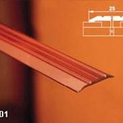 Порог одноуровневый с открытым креплением арт АПС 001 длина 1350 мм фото