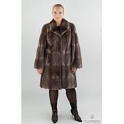 Пальто меховое ондатра фото