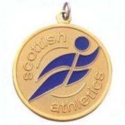 Медаль индивидуальная спортивная фото
