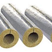 Изоляция трубопроводов кашированными минераловатными цилиндрами 54/25 мм LINEWOOL фото