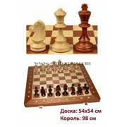 Шахматы турнирные N6 (Intarsia) фото