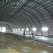 Проектирование ангаров из легких металлоконструкций, Ангары из металлоконструкций быстровозводимые под склады, СТО, стоянки. фото