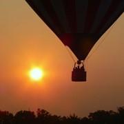 Воздушный шар на корпоративном мероприятии фото