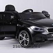 Детский электромобиль BARTY BMW 6 GT JJ2164 черный фото