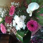 Букет цветов сборный фото