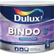 Dulux Bindo 3 (Дулюкс Биндо 3), глубокоматовая краска для потолков и стен BW, 10 л. фото