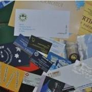 Печать цифровая, визитки, рекламные листовки, флаера, фирменные бланки и фирменные конверты, буклеты и т.д. фото