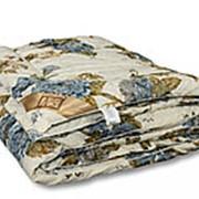 Одеяло из овечьей шерсти Стандарт полутораспальное теплое фото