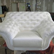 Ремонт мяких меблів. фото