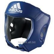 Боксерский шлем (синий) фото