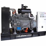 Стационарный дизельный электроагрегат на открытой раме ЭДД-100-4 фото