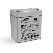 Аккумуляторная батарея AGM RITAR RT1245, Gray Case, 12V 4.5Ah ( 90 х 70 х 101 (107) ) Q10 фото