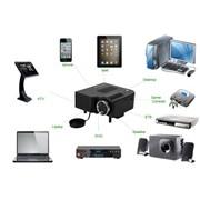 Портативный проектор для просмотра видео и фото, и фото