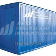 Стационарная паровая промысловая установка СПУ контейнерного типа 1600/100 с насосом 1,1 ПТ25 20-ти футовый морской контейнер фото