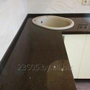 Кухонные столешницы из искусственного камня фото