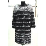 Жакет пальто из чернобурки Поля фото