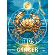 Картина по номерам Знак Зодиака Рак фото