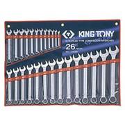 Набор ключей рожково накидных 1226MR KING TONY фото