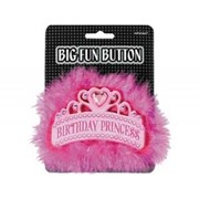 Значок большой Birthday Princess Тиара А фото