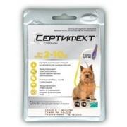 СЕРТИФЕКТ Merial Спот 0н для собак весом от 2 до 10 кг (S) фото