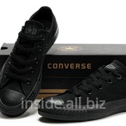 Кеды Converse All Star Low All Black фото