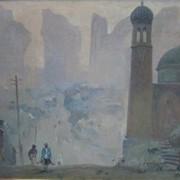 Брынских Борис Александрович (1924-1998), категория 4б, старый город, холст, масло, 60х80см, 1971 год. фото
