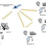 Корпоративная сеть с использованием Центральной Станции Inmarsat-MT фото