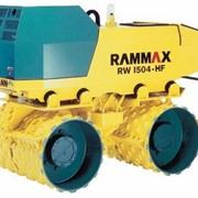 Траншейный каток в аренду RAMMAX RW 1504 (самоходный виброкаток 1,5 т) в аренду фото