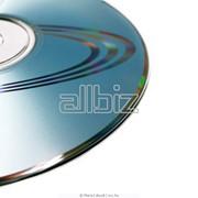 Компакт-диски MC, CD, VCD, DVD запись, печать, тираж фото
