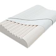 Подушка эргономической формы с двумя валиками под шею разной высоты ТОП-AirCool фото