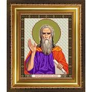 """Рисунок на ткани для вышивания бисером """"Святой Пророк Илия"""" VIA4071 фото"""