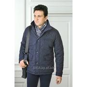 Куртка средней длины демисезонная Casual, модель 1549 фото