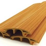Фасадные материалы из древесно-полимерного композита фото