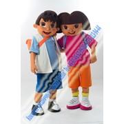 Ростовые куклы на детский праздник в Астане фото
