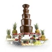 Аренда оборудования для шоколадных фонтанов фото