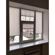 Ролл-шторы мини на окна (изготовление и установка) фото