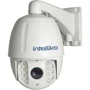 2.1 Мп уличная скоростная поворотная видеокамера 18X Zoom (5.35-96.3 мм) с ИК-подсветкой до 120м INT-PTZHD10-A04 фото