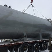 Резервуар горизонтальный стальной РГСН, РГСП 75м3 фото