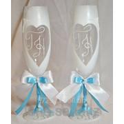 Свадебные бокалы №2 фото