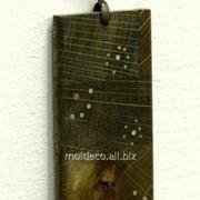 Бижутерия ручной работы Pandantiv din lemn 3 фото