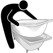 Акриловый вкладыш (ванна в ванне) фото