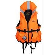 """Спасательный жилет """"IFRIT"""" до 140 кг. Оранжевый фото"""