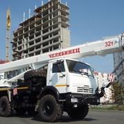 Кран снегоболотоход КС-55733, 32 тонны Челябинск, стрела 26,7 метра фото