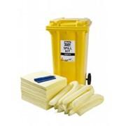 Химический аварийный набор 240л Black&White Chemical Spill kit, абсорбент, набор для ликвидации разливов фото