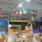 Оформление торговых центров на праздники, световые 3D фигуры, буквы, декорации, ремонт, монтаж, демонтаж, гарантия фото