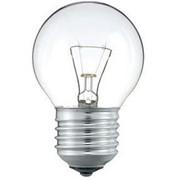 Лампа 40W/P45/CL/Е27 шар прозрачная Philips фото