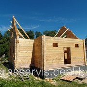 Дома из профилированного бруса 9 х 10 м, 200 мм фото